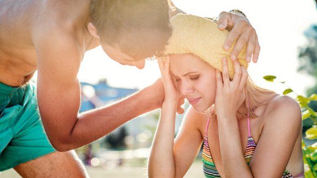 Топлинният удар може да се сбърка с летен грип